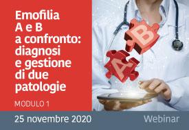 Course Image Emofilia A e B a confronto: diagnosi e gestione di due patologie