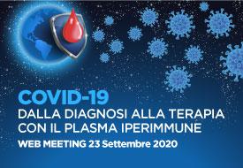 Course Image Covid-19 Dalla diagnosi alla terapia con il plasma iperimmune