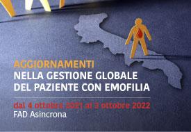 Course Image Aggiornamenti nella gestione globale del paziente con emofilia